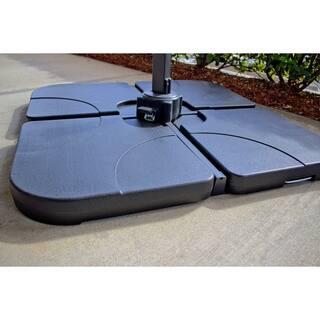 Coolaroo Universal Cantilever Umbrella Base -- 4 Pc