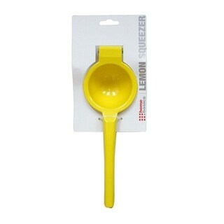 Home Basics Yellow Enamel Coated Steel Lemon Squeezer