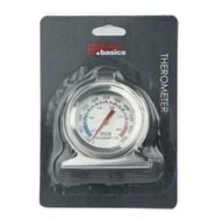 Home Basics Stainless Steel Fridge Thermometer