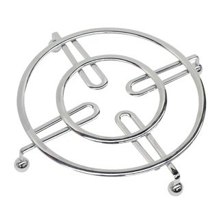 Home Basics Chrome Steel Trivet