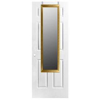 Home Basics Gold Over The Door Mirror