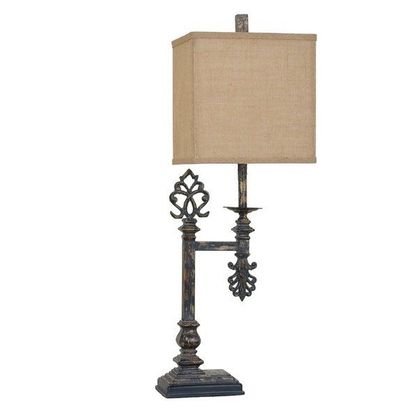 Castle Gate Antique Metal 33-inch Table Lamp