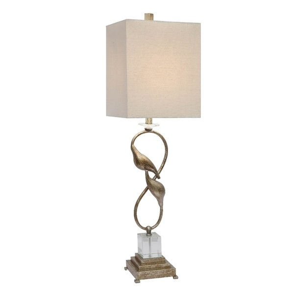 Oi Connor Champagne and Crystal 38.5-inch Table Lamp