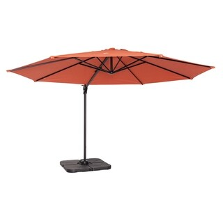 Coolaroo 12' Cantilever Umbrella Terracotta