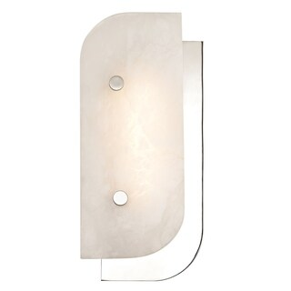 Hudson Valley Yin & Yang 1-light ADA Polished Nickel Small LED Wall Sconce