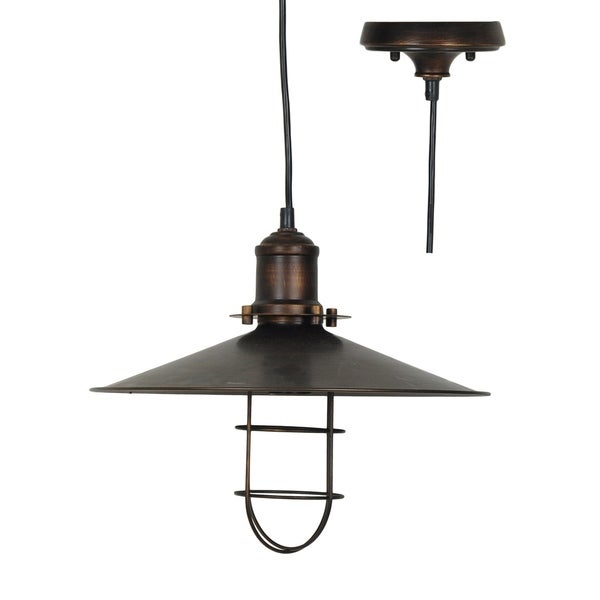 Harbor Side Antique Bronze 61-inch Pendant
