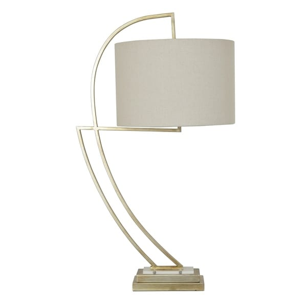 Norris Toasted Silver 35-inch Table Lamp