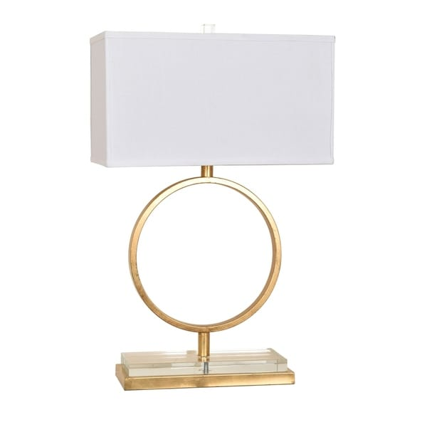 Aldrich Gold Leaf 29-inch Table Lamp