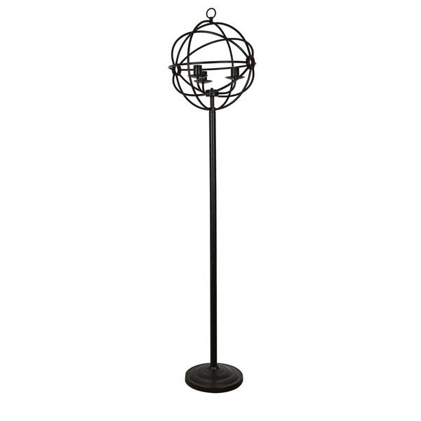 Global Oil Bronze 70-inch Floor Lamp