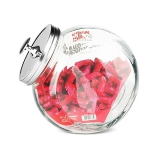 Home Basics Clear Glass 5-inch Candy Jar