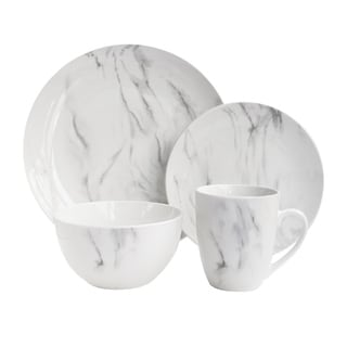 Marble Wh/gray 16pc Dinnerware Set Sc 1 St Overstock  sc 1 st  pezcame.com & Closeout White Dinnerware u0026 $40.99 $74.99 Sc 1 St Dealmoon.com