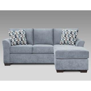 Sofa Trendz Cambridge Blue/Grey Sofa Chaise