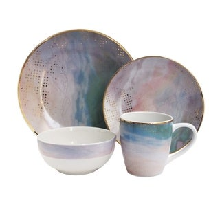 soiree agate 16 pc dinner set