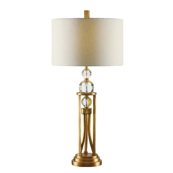 Rollins Gold Leaf 25-inch Table Lamp