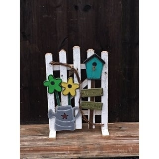 Spring Garden Fence Decoration