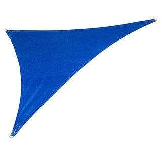 Coolaroo Coolhaven Right Triangle Sail Sapphire with Hardware