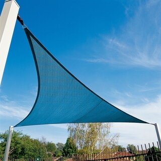 Coolaroo Coolhaven 18' Triangle Sail Sapphire with Hardware