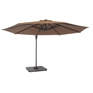 Coolaroo 12' Cantilever Umbrella Mocha