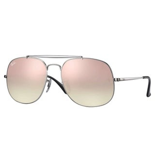 Ray-Ban RB3561 General Sunglasses Silver/ Copper Gradient Flash 57mm