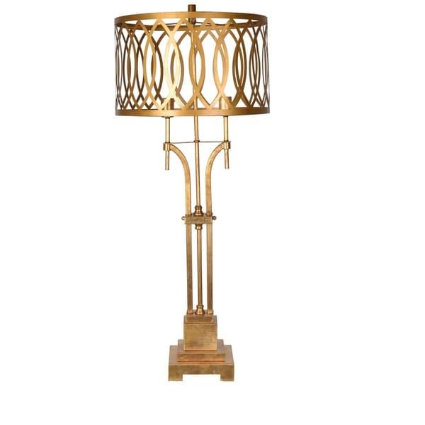 Laurel Gold Leaf 43-inch Table Lamp