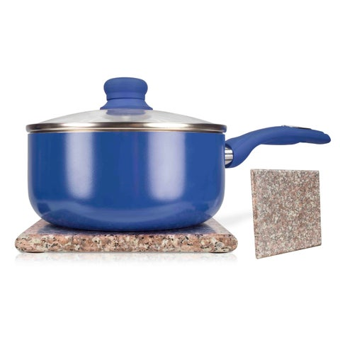 Home Basics Brown Granite Trivet