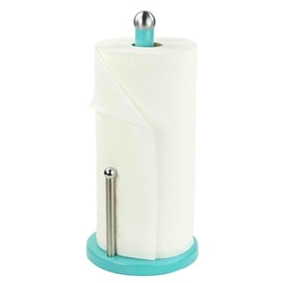 Link to Home Basics Turquoise Powder Coated Steel Paper Towel Holder Similar Items in Kitchen Storage