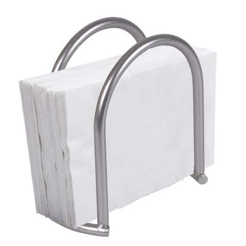 Home Basics Simplicity Satin Nickel Napkin Holder