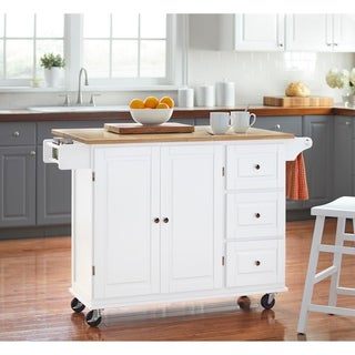 Aspen Three Drawers Kitchen Cart