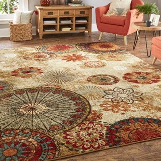 Porch & Den Bexley Medallion Area Rug - 7'6 x 10'