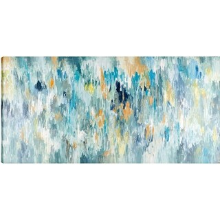 To The Beat I, Abstract Art, Acrylic on Canvas Art Décor , Unframed, Gallery Wrapped, 30x60X1.5, Ready to hang, ArtMaison.ca