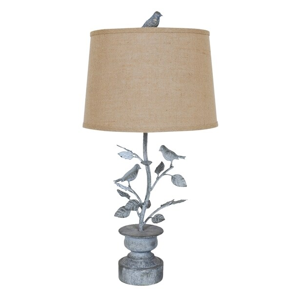 Spring Planter Oxidized 31-inch Table Lamp