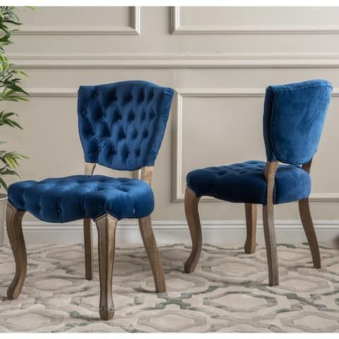 Maison Rouge Anwar Tufted Dining Chairs (Set of 2)