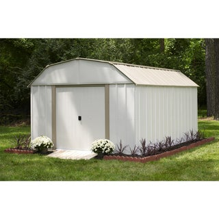 Arrow Lexington LX1014 Galvanized Steel Storage Shed (10' x 14')