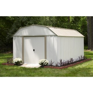The Gray Barn Koomooloo Galvanized Steel Storage Shed