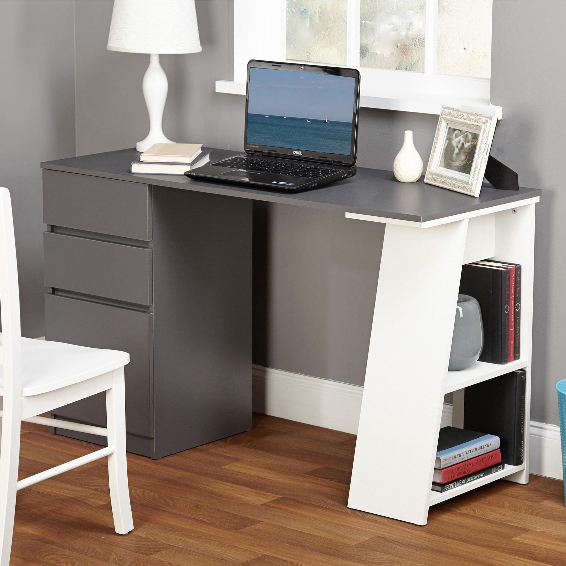 Simple Living Como Modern Writing Desk Overstock 20603112