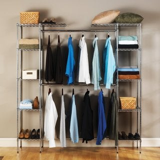 Clay Alder Home Hell Gate Expandable Closet Organizer