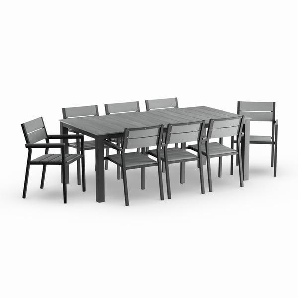Shop Main 9-piece Outdoor Patio Dining Set