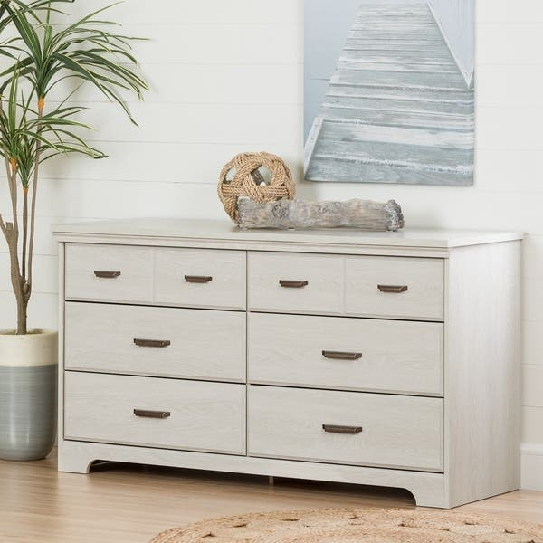 South S Versa 6 Drawer Double