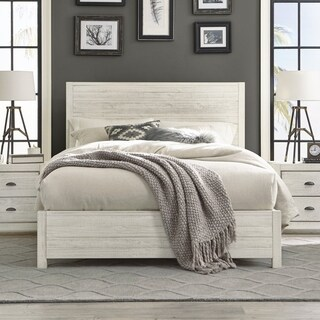 Grain Wood Furniture Montauk Queen Solid Wood Panel Bed (5 options available)