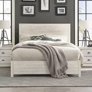 Grain Wood Furniture Montauk Queen Solid Panel Bed