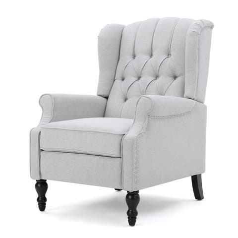 Christopher Knight Home Walter Button-tufted Reclining Club Chair