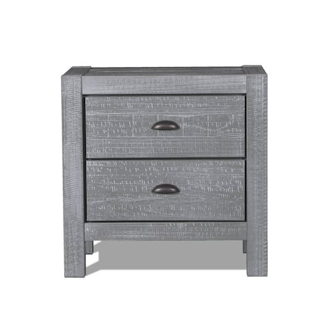 a02cbc81d3 Buy Grey Nightstands & Bedside Tables Online at Overstock | Our Best ...