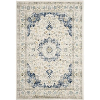 Safavieh Evoke Annabel Vintage Shabby Chic Oriental Rug (51 x 76 - Ivory/Blue)