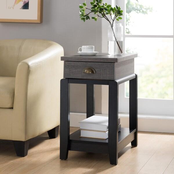 Shop Furniture Of America Gavin Contemporary Two-tone 1