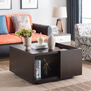 Furniture of America Nost Contemporary Storage Coffee Table