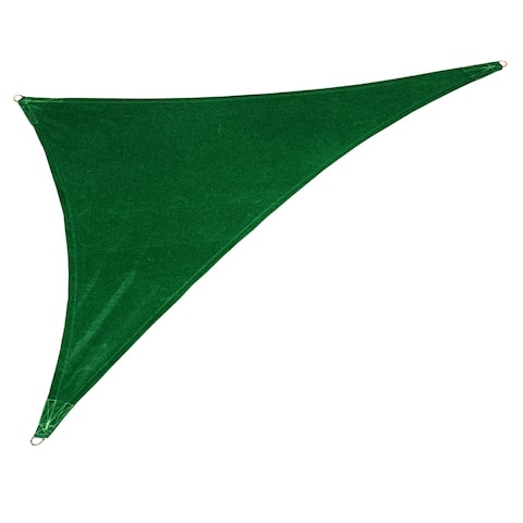 Coolaroo Coolhaven Right Triangle Sail Heritage Green