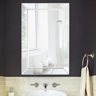 Buy rectangular bathroom vanity mirrors online at - Best place to buy bathroom mirrors ...