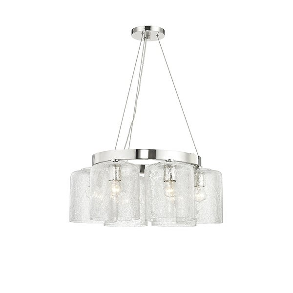 Hudson Valley Charles 6-light Polished Nickel Chandelier