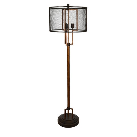 Winchester Copper 62-inch Floor Lamp