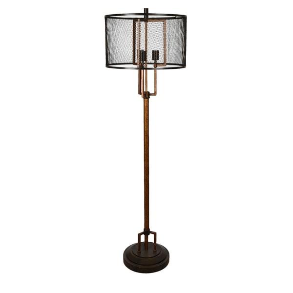 Winchester Copper 62-inch Floor Lamp